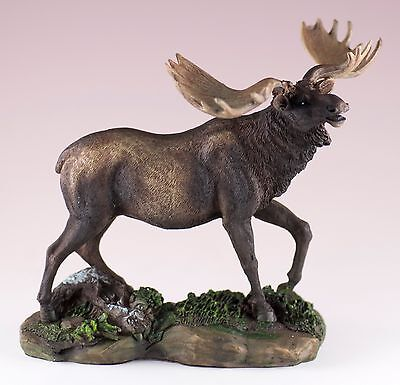 Moose Figurine 5.5 Inch High Resin New In Box