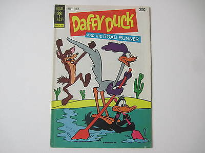 Daffy Duck #82 June 1973 Gold Key Comics Daffy Duck And The Road Runner