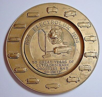 Electrolux Vacuum Cleaner Plaque-50th Anniversary-Metal