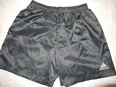 Youth Vintage GUC Black ADIDAS Originals Soccer Training Shorts size L