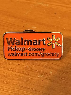 Rare Walmart Lapel Pick Up Today Grocery  Wal-mart Pinback