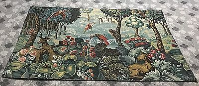 Antique print French Aubusson Design Wallhanging Tapestry 119 By172 Cm