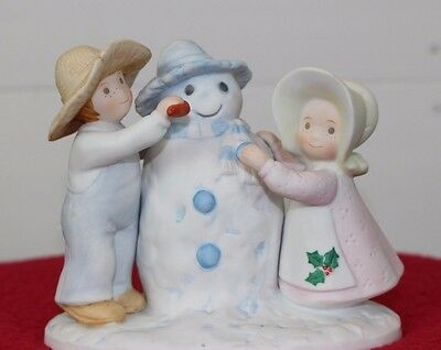 Circle of Friends Figurines Snow Play Psalms 51:7 ...Wash me and I shall be....