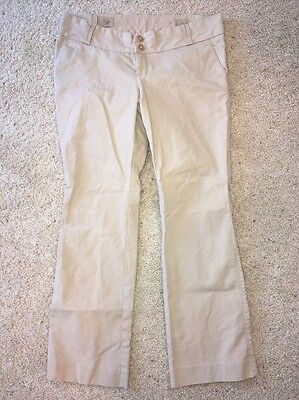 Women's Old Navy Maternity Beige Casual Pants Size 12