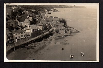 Anglesey from the Bridge - real photographic postcard