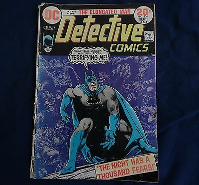 The night has a thousand fears - Batman Detective 436 - Aug 1973