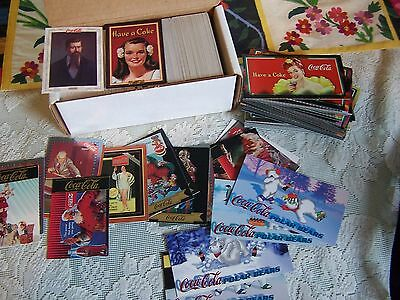 Coca Cola Series 1-4 sets w/ Sign of Good Taste set and inserts