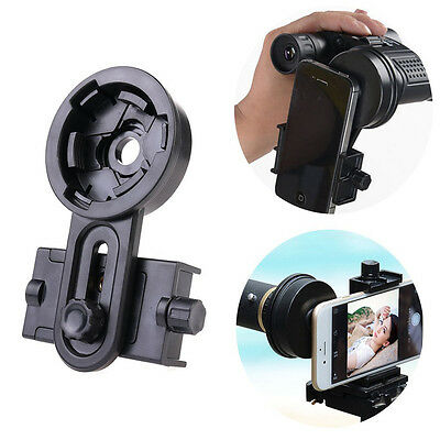 Universal Phone Adapter Mount Microscope Spotting Scopes Telescope Clip Holder