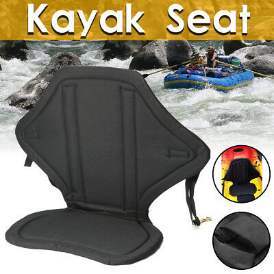 Detachable Storage Kayak Seat Back Pack Bag Canoe Backrest Drifting Cushion AU