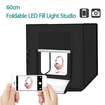 PULUZ 60cm Photography Cube SoftBox Kit Light Tent Studio Foldable for Products