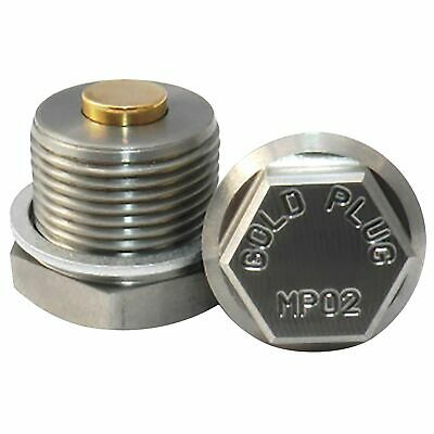 Gold Plug Magnetic Oil Sump Drain Plug - M12 Thread - MP-01