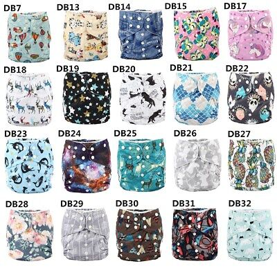 2 to 7 years old BIG Cloth Diaper Nappy Pocket Reusable Washable Toddler Junior