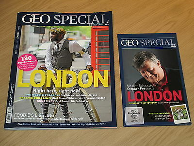 Geo Special 2/2015 - London Mit Dvd: Stephen Fry's Key To The City & Wildes Lond