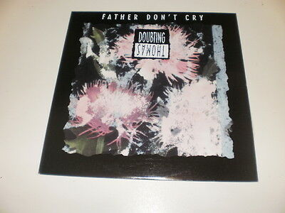 "Doubting Thomas - Father Don't Cry - 12"" Wax Trax! Records Maxi Single 1991 Usa"