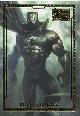 Marvel Universe 2014 75th Anniversary Chase Card #52 Black Panther