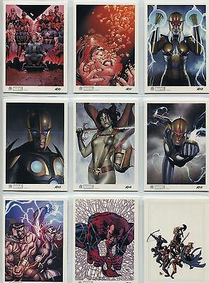 Marvel Universe 2014 Complete Artist Draft Chase Card Set AD10-18