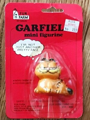 Dakin 1978 Garfield Mini Figurine - *NIB*