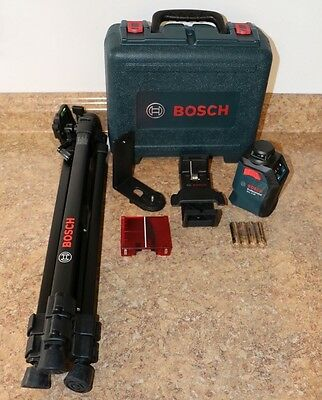 Bosch GLL 2-20 - 360° Horizontal Cross-line Laser Level Kit Free Shipping