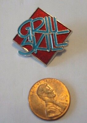 Wendy's Lapel Pin Grill Skill