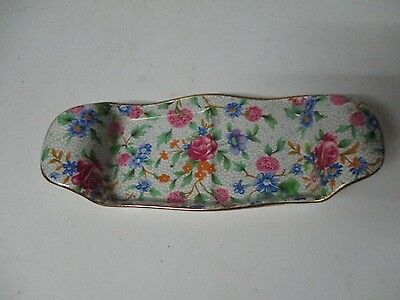 Vintage Royal Winton England Chintz Condiment Tray - Old Cottage