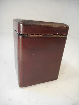 Antique Oriental Tea Caddy    ref 3062