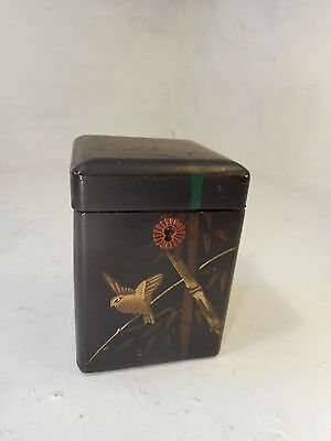 Antique Oriental Tea Caddy    ref 3061