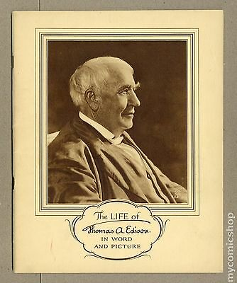Life of Thomas A. Edison in Word and Picture (1928) #0 VG/FN 5.0
