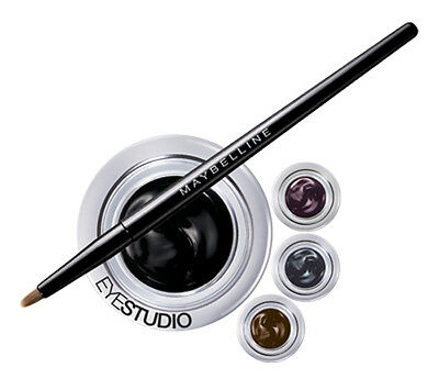 Maybelline Lasting Drama 24H Gel Eyeliner in Different shades (Black/Gold/Blue)