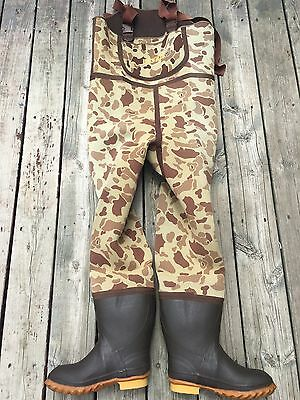 RANGER #881 boot chest waders waterfowl hunting camouflage camo size 6 men/boys