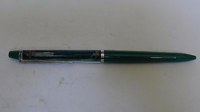 Vintage Denmark Mississippi Queen Floaty Pen With Floating Ship