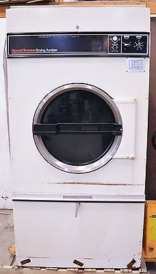 SpeedQueen 75CG Natural Gas Commercial Clothes Dryer Laundry Speed Queen 75 lb