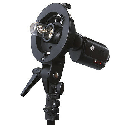 Neewer S-type Bowens mount supported Softbox Beauty Dish Flash Bracket Mount