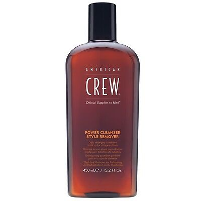 American Crew Haircare Power Cleanser Style Remover Shampoo 450ml for men