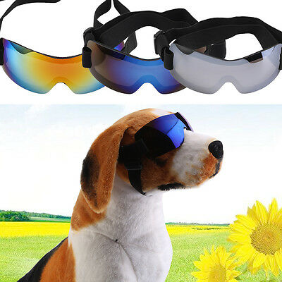 Pet Dog UV Sun Glasses Eye Wear Protection Sunglasses Safety Doggles Goggles Y
