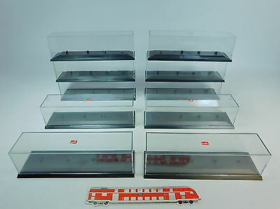av24-3 #10 x Herpa H0 Display Cabinet; Good 2.wahl Choice; For Lorry /