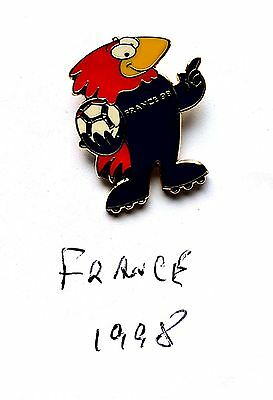 World Cup Mascot Badge France 1998