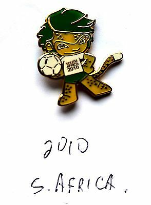 World Cup Mascot Badge South Africa 2010