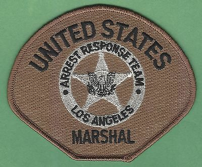 United States Marshal Los Angeles Arrest Response Team Police Patch