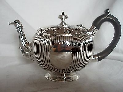 Bachelor Tea Pot Victorian Sterling Silver London 1874