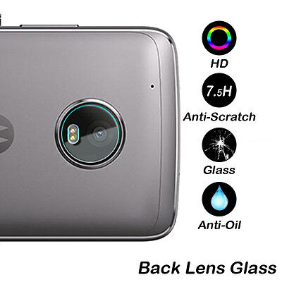 7.5H Rear Camera Lens Tempered Glass Protector Cover For Motorola Moto G5 / Plus