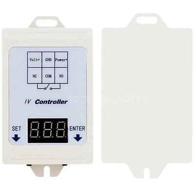 Digital DC Voltage Test Control Relay Time Delay Switch Module With Case US Ship