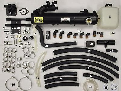 New 4.3L Fresh Water Cooling Kit, FULL Kit - Non Dry Joint, MERC years 1999-up