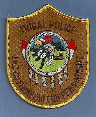 Lac Du Flambeau Band Of Chippewa Indians Wisconsin Tribal Police Patch
