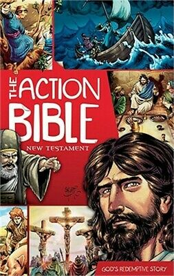 The Action Bible: New Testament: God's Redemptive Story (Paperback or Softback)