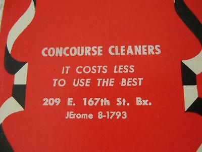 Vintage Advertising Playing Cards-CONCOURSE Cleaners-209 E 167th St-Bronx-NY