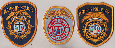 Memphis TN Police patches