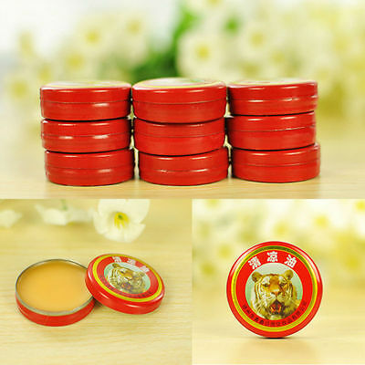 Lots of 10pcs Tiger Balm Pain Relief Ointment Massage Red White Muscle Rub Aches