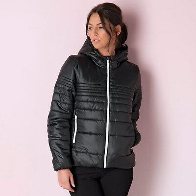 Women's adidas Padded Jacket In Black From Get The Label