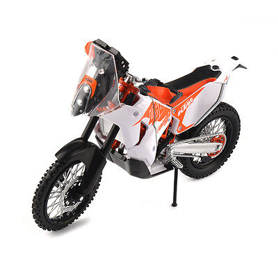 1/12 KTM 450 RALLY Racing Motorcycle Model Diecast Motorbike Toys
