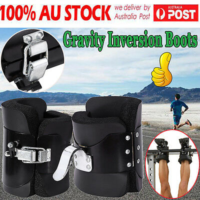Gravity Boots Inversion Therapy Crossfit Gym Fitness Physio Hang Spine Posture H